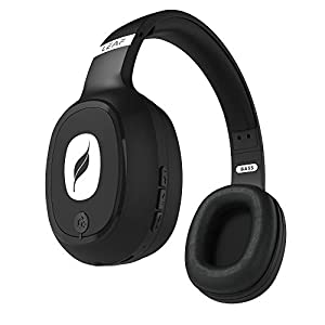 Leaf Bass Wireless Bluetooth Headphones with Hi-Fi Mic and 10 Hours Battery Life, Over Ear Headphones with Super Soft…
