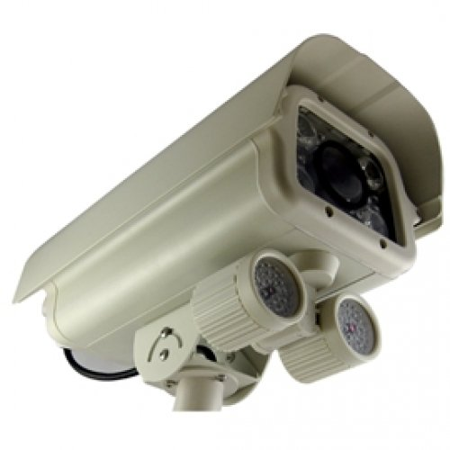 Ccd 520 Tv Lines (Vonnic C204W 1/4-Inch Sony CCD 520 TV Lines 104 IR LED Night Vision 300-Feet 27X Housing Camera (White))