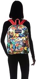 Jansport Superbreak Backpack Multi Lost Marbles