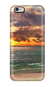 Rugged Skin Case Cover For Iphone 6 Plus- Eco-friendly Packaging(scenic)
