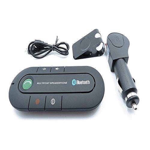 Bluetooth Speakerphone, Wireless Audio Music Receiver Hands Free Bluetooth Car Kit Sun Visor Portable Bluetooth Multipoint Speakerphone (Bluetooth-CZY) by XINGDONGCHI (Image #1)