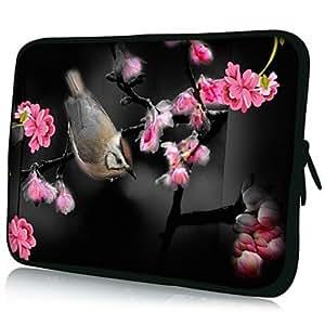"CL - Bird Patrón 7 ""/ 10"" / 13 ""Laptop Sleeve Case para el MacBook Air Pro / Ipad Mini / Galaxy Nexus Tab2/Sony/Google 18154 , 13"""
