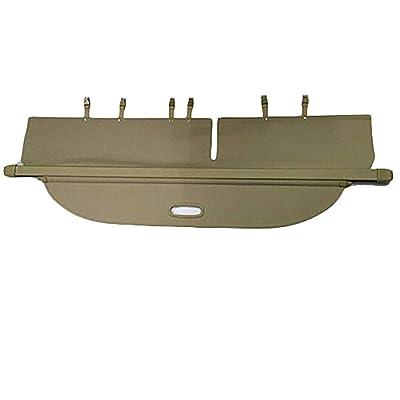 Cargo Security Rear Trunk Cover Retractable For 13-18 Toyota Rav4 Cargo Cover Beige by Kaungka: Home Improvement
