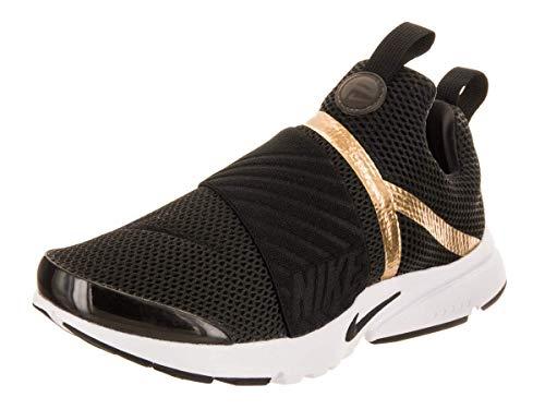 Nike Presto Extreme Big Kid's Shoes Black/Black/Metallic Gold 870022-006 (7 M US) ()