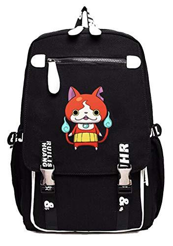 Gumstyle YO-KAI WATCH PuniPuni Game Cosplay Laptop Backpack Book Bag Rucksack Schoolbag for Students 4