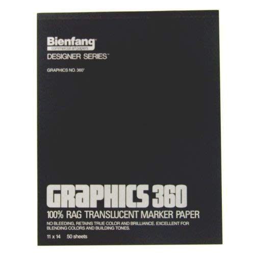 Bienfang Graphics 11 by 14-Inch 360 Paper Pad, 50 Sheets by Bienfang ()