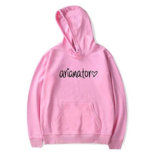 Hoodieat Felpa Pink Ariana Con Spring Per Grande Cappuccio Sweatshirt Teenager Da Uomo BUTBdxqw