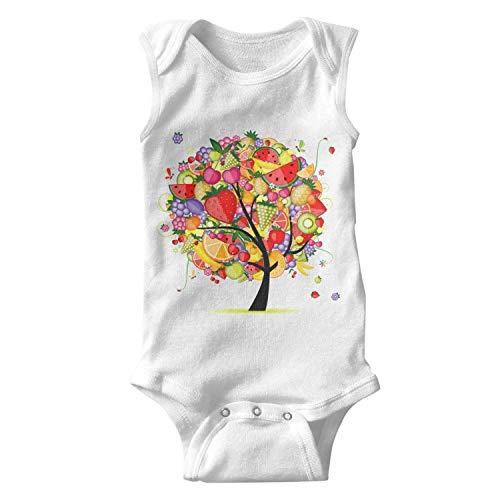 Energy Fruit Tree Unisex Baby Onesies Boy Cute - Silk Fig Trees