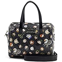 Loungefly Harry Potter Character All Over Print Duffle Bag Purse