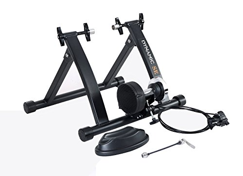 DYNAMIC SE Indoor Bike Trainer Indoor Eexercise Bicycle Magnetic Trainer Stand 6 Levels Magnetic Resistances With Quick Release Skewer For Sale