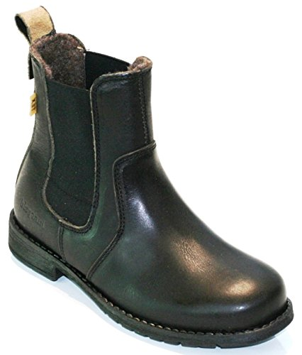 Bisgaard TEX Unisex-Kinder Chelsea Boots Schwarz