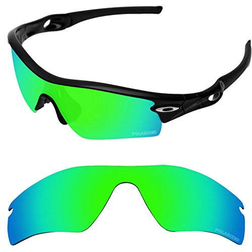 Tintart Performance Replacement Lenses for Oakley Radar Path Sunglass Polarized Etched-Emerald Green by Tintart