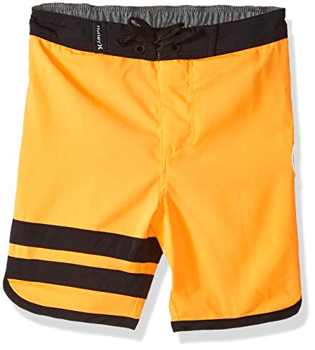 (Hurley Toddler Boys' Stretch Board Shorts, Bright Citrus, 2T)
