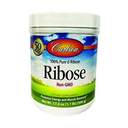 Carlson Labs Ribose 100% Pure d-Ribose, 500g