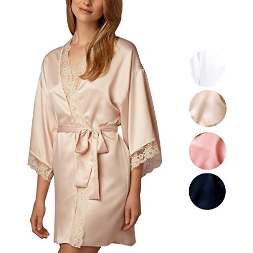 French Floral Robe - 4