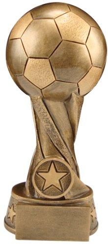 AS-P Fußball Trophy Pokal inkl. Ihrer Wunschgravur und Emblem, Höhe: 27 cm