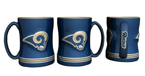 St. Louis Rams Coffee Mug - 15oz Sculpted ()