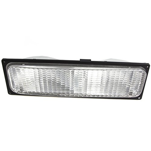 CarPartsDepot Front Bumper Parking Light Lamp Right Fit 88-89 Chevy C/K 1500-3500 (Chevy C/k Truck Parking Light)