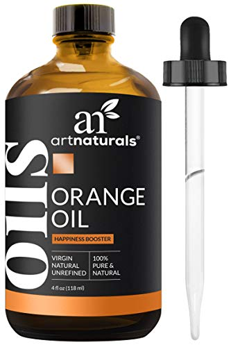 Fruit Freshener Air Summer (ArtNaturals 100% Pure Sweet Orange Essential Oil - (4 Fl Oz / 118ml) - Undiluted Therapeutic Grade Citrus Oil - Happiness Energize and Motivate)