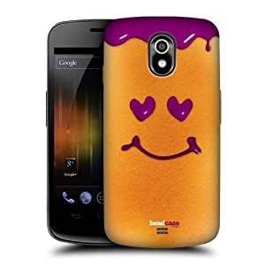 DIY Case Designs Blueberry Dip Happy Little Breads Protective Snap-on Hard Back Case Cover for Samsung Galaxy Nexus I9250 by ruishername