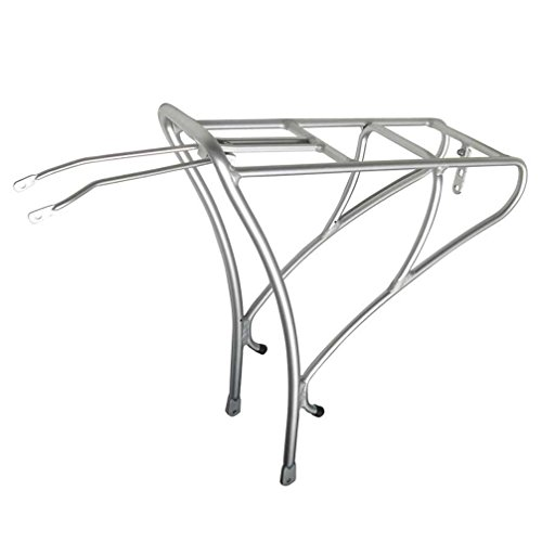 Soma Fabrications Deco Rear Mounted Bicycle Rack (Matte Silver)