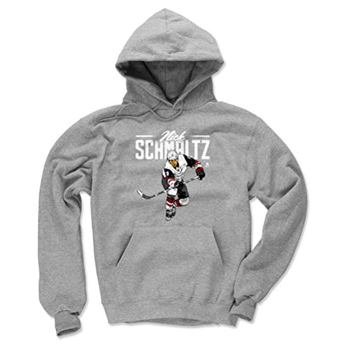 - 500 LEVEL Nick Schmaltz Arizona Coyotes Hoodie Sweatshirt (Small, Gray) - Nick Schmaltz Retro W WHT