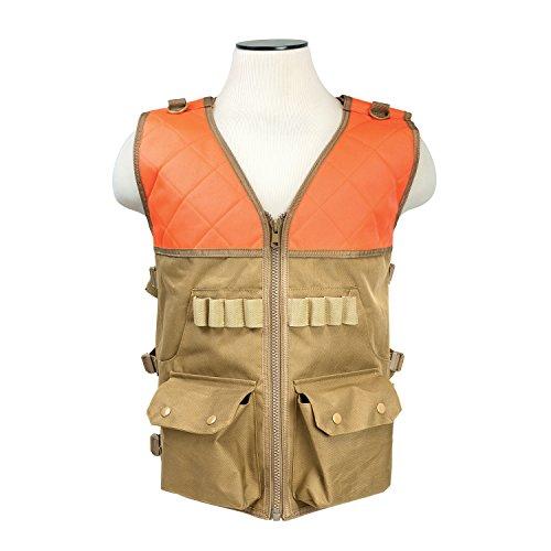 Vism Hunting Vest, Blaze Orange and Tan