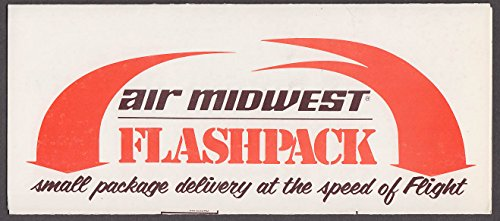 Air Midwest Airlines Flashpack At the Speed of Flight folder ca ()