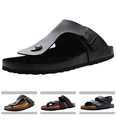 The A Suede Thong Sandal - 9