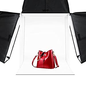 "LimoStudio 16"" x 16"" Table Top Photo Photography Studio Lighting Light Tent Kit in a Box, AGG349"
