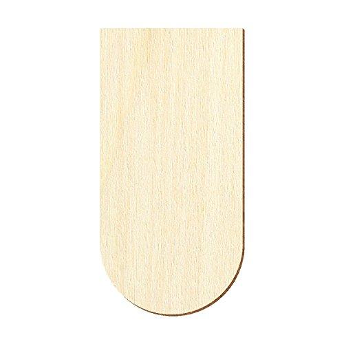 Biberschwanz Schindelgr/ö/ße:80mm x 40mm Sperrholz Schindeln Pack mit:250 St/ück Gr/ö/ßen- und Mengenauswahl halbrund