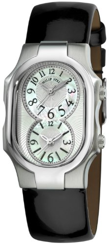 Philip Stein Women's 1-NFMOP-LB Signature Black Patent Leather Strap Watch