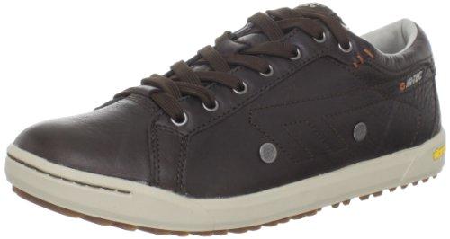 Hi-Tec Men's Sierra Lace Sneaker,Dark Chocolate/Stone/Burnt Orange,7 M US