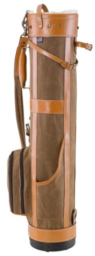 BELDING American Collection Pencil Golf Bag, 7-Inch, Tan by BELDING (Image #4)