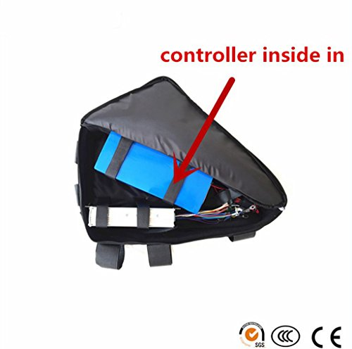1500w motor 48v 13.2ah Samsung cell 22p electric bike triangle bag lithium battery for 1500w ebike by NBPower (Image #1)