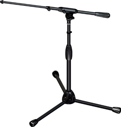 Tripod Stand Ts Speaker 80b - Ultimate Support TOUR-T-SHORT-T Pro Tripod Microphone Stand with Telescoping Boom