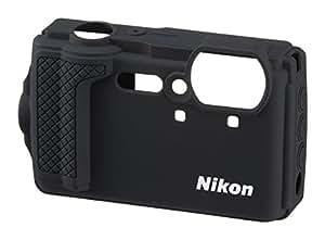 Nikon VHC04801 Estuche para cámara fotográfica - Funda (Funda, Nikon, COOLPIX W300, Negro)