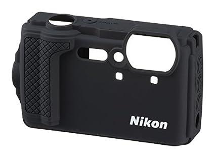 Amazon.com: Nikon cf-cp3 Chaqueta (Negro) de silicona para ...