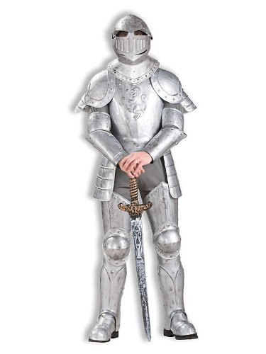 In Adult Shining Costumes Knight Armor (Knight in Shining Armor Men's)