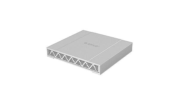 ORICO 2.5 Pulgadas USB Tipo C Disco Duro Externo Raid Caja USB3.1(Gen2, 10Gbps) 2 Bahía Raid Caja Disco Duro Externo, Indicadores LED, Ayuda 2TB + 2TB=4TB: Amazon.es: Informática