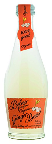 Belvoir Lemonade, Ginger Beer, 8.4 Ounce (Pack of 24) - Organic Ginger Beer