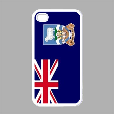 Falkland Islands Flag White Iphone 4 - Iphone 4s Case ()