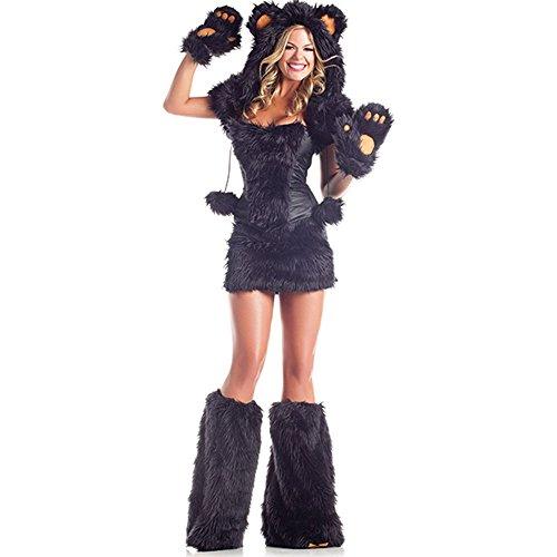 Sexy Bear (Sexy Bear Adult Costume Black Bear - Medium/Large)