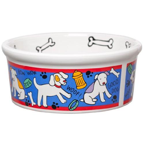 Signature Housewares Spot Dog Bowl, Large, My Pet Supplies