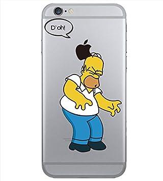 coque iphone 8 plus homer simpson