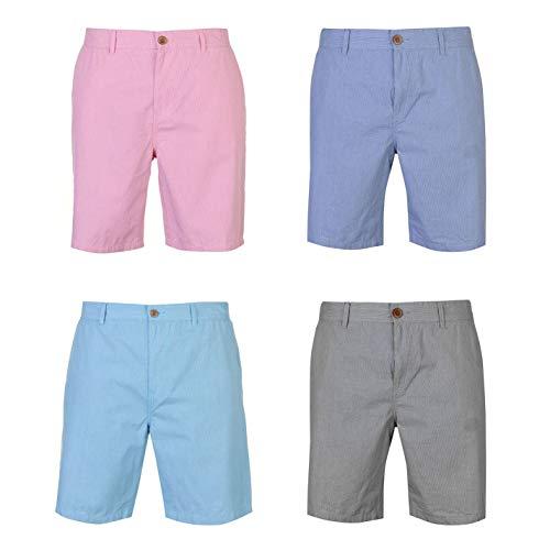 (Pierre Cardin Mini Check Shorts Mens Bottoms Short Pants Summerwear Royal Medium Blue)