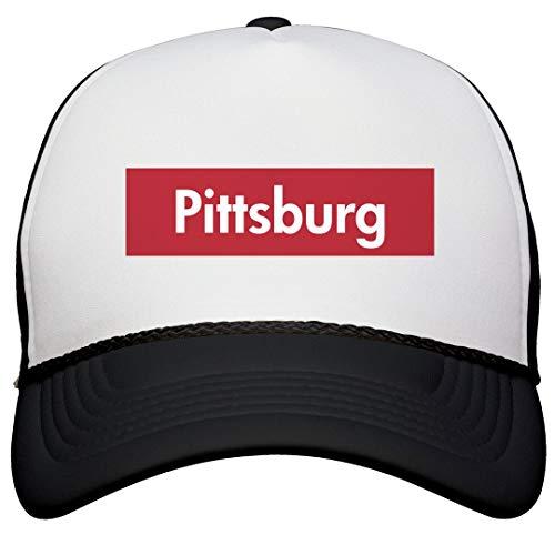 Pittsburg State Cap (FUNNYSHIRTS.ORG Cool Supreme Pittsburg Pride Hat: Snapback Trucker Hat)
