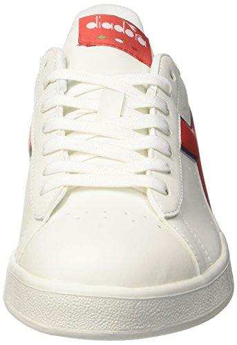 Sneaker Bco Rosso Bianco Uomo P Game Diadora Estate Carmineblu Ewvq7BXWWU