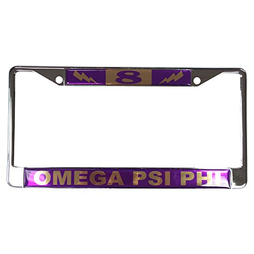 Omega Psi Phi License Plate - 5