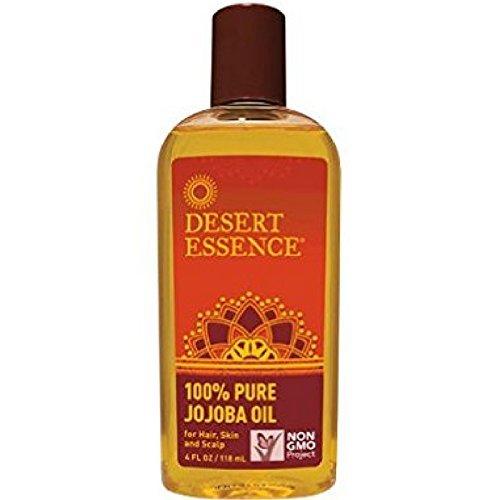 Jojoba Oil 100% Pure Desert Essence 4 oz Liquid